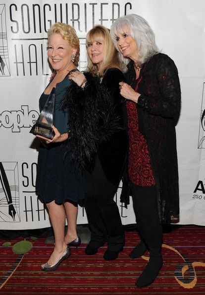 Stevie and Emmylou are basically best (Bette) friends.