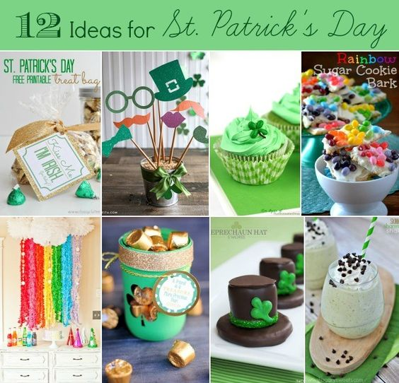 12 IDEAS TO CELEBRATE ST. PATRICK'S DAY