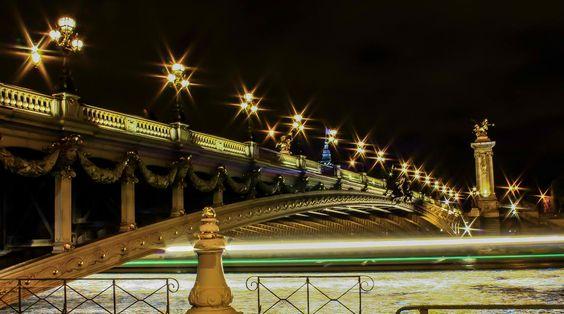 Bridges of Paris-Pont Alexandre III
