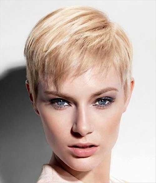 Short Hairstyle For Thin Hair Short Hairstyle For Thin Hair 18 Photo Very Short Haircuts Cute Hairstyles For Short Hair Short Hair Styles Pixie