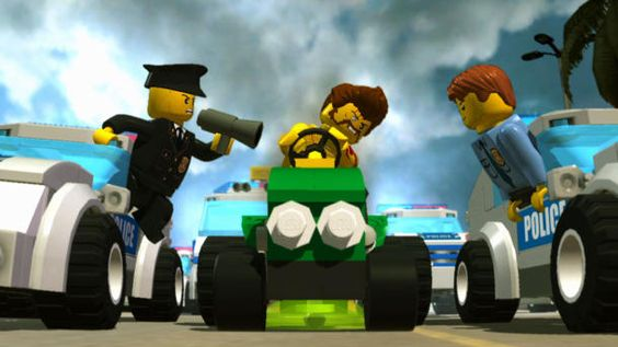 Lego City Undercover - Wii U Games