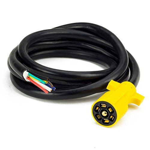 Proline Power 7 Way Plug Inline Trailer Wiring Harness Cord
