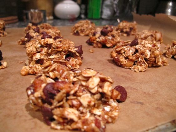 """Just made these from one of my favorite food bloggers, FoodBabe. She calls them """"Forever Cookies,"""" and they contain NO junk! (And they're super tasty raw, baked, or dehydrated!):"""