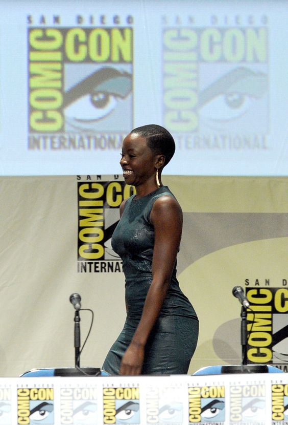 """Actress Danai Gurira attends AMC's """"The Walking Dead"""" panel during Comic-Con International 2014 at San Diego Convention Center on July 25, 2014 in San Diego, California."""