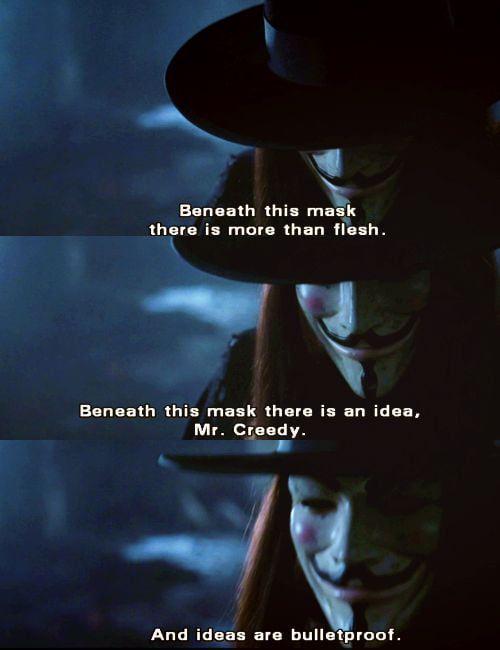Remember Remember In 2020 V For Vendetta Movie Quotes V