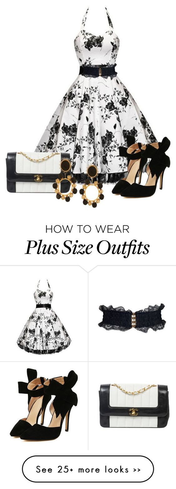 """""""Black And White"""" by chris1017 on Polyvore"""