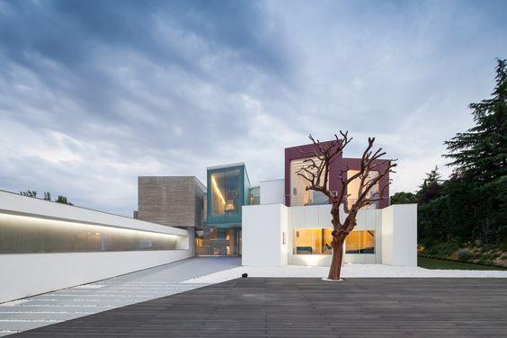 House H. Madrid, Spain