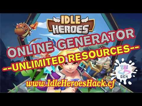 3 Idle Heroes Glitch Unlimited Gems 2017 Working 100 Android And Ios Youtube Hero Games Ios Games Ios Game Apps