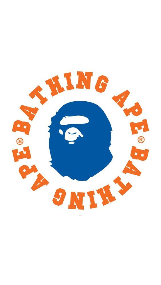A BATHING APEの猿囲みロゴ