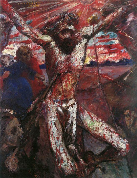Lovis Corinth, The Red Christ 1922.: