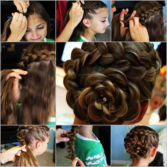 Bonjour les filles ! Renouveler sans cesse ses coiffures n'est pas chose facile... mais on aime être émerveillé par des coiffures de princesse. On vous présente là 9 coiffures dans le style fleur ! …