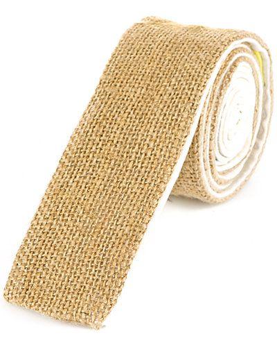 Burlap Tie by Descendant of Thieves.