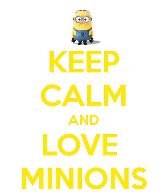 I Love You In Minion Language