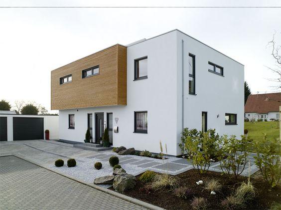 Vorgarten schöne moderne moderne haus fertighaus mit häuser modern