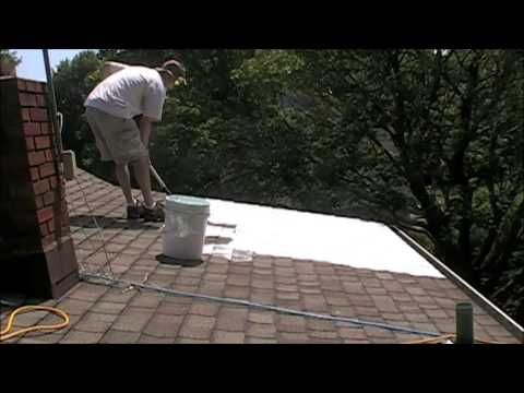 Nj Install Of A Super Therm White Roof Initiative Cool Roof Crrc Cool Roof Roof Paint Roofing Diy