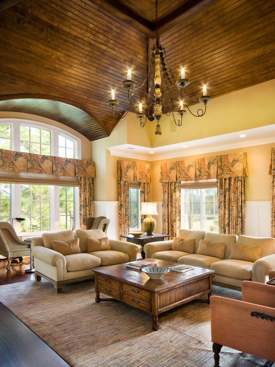 Vaulted Ceiling Designs Living Room Design, Pictures, Remodel, Decor and Ideas - page 5