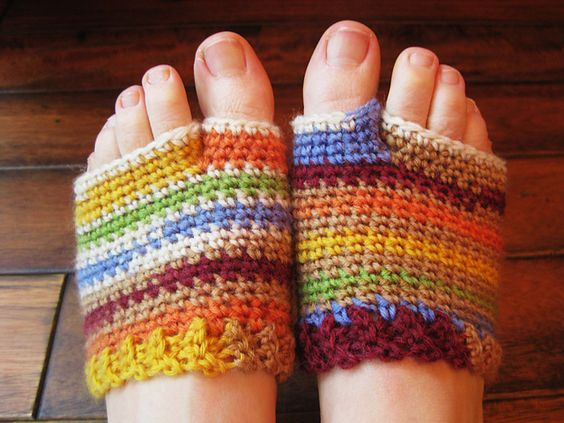 Flip Flop Socklets Could Definitely Make These Into Yoga