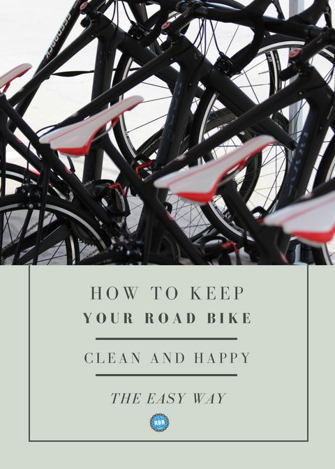 How To Keep Your Road Bike Clean And Happy Bike Cleaning Road