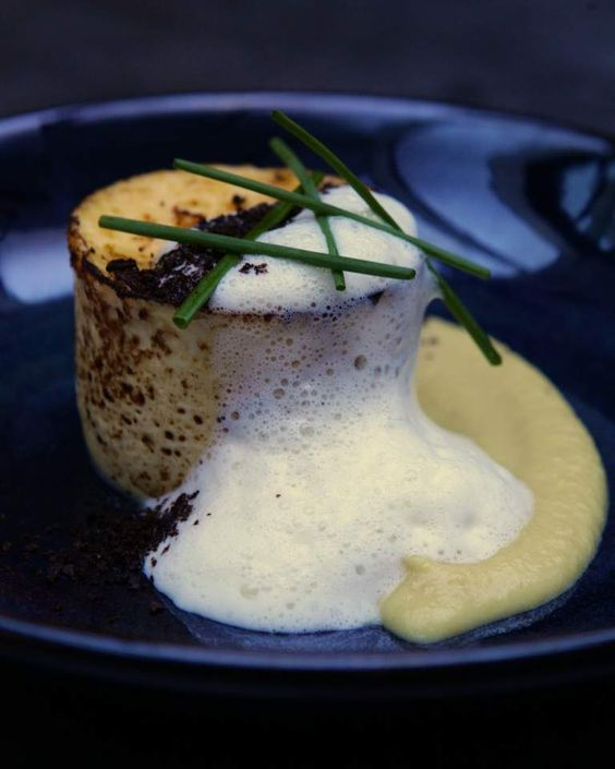 Baked Comte Custard From Vincent In Woollahra