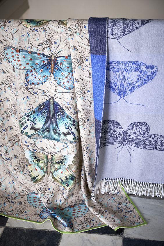 Designers Guild new Autumn throws Disponible en @latorredecora
