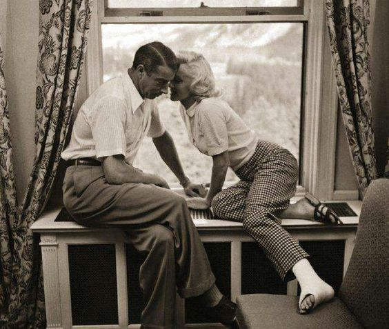 Joe and Marilyn: