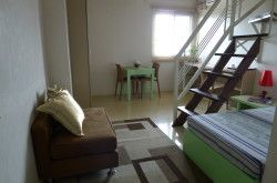 STUDIO TYPE ROOM WITH LOFT AND BATH NEAR KATIPUNAN, ATENEO, UP