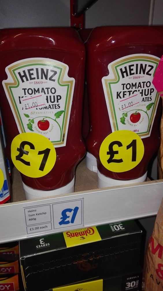 Heinz Tomato Ketchup    460g    The original and best    Asda £1.75    Morrisons £1.50 (and thats their offer price!)    BB to follow | Shop this product here: http://spreesy.com/DiscountFoodsofLincoln/103 | Shop all of our products at http://spreesy.com/DiscountFoodsofLincoln    | Pinterest selling powered by Spreesy.com