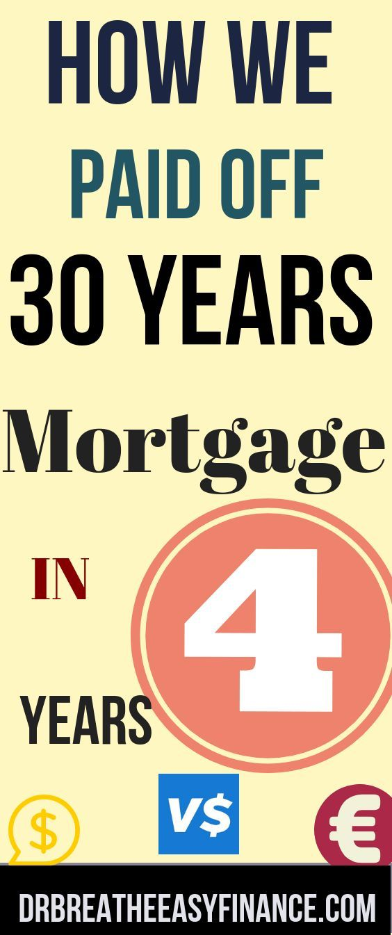 How We Paid Off Our 30 Year Mortgage In 4 Years Vital Dollar Get Out Of Debt Series 30 Year Mortgage Debt Free Get Out Of Debt