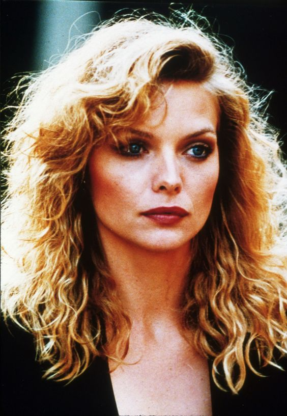 Michelle Pfeiffer, 1980's Style.