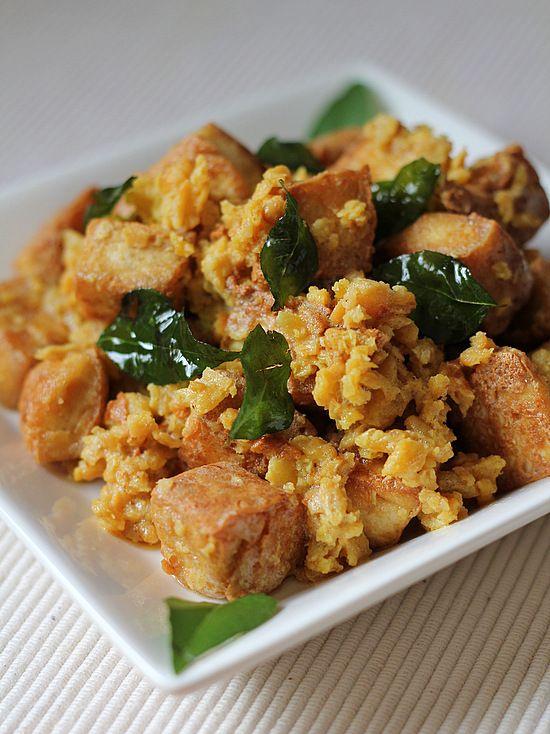 Salted egg yolk fried chicken recipe
