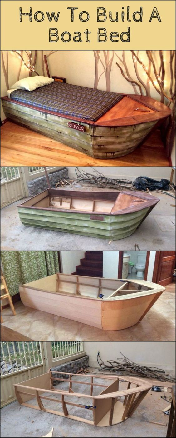 How To Build A Boat Bed http://theownerbuildernetwork.co/c09j Here's a bed that…: