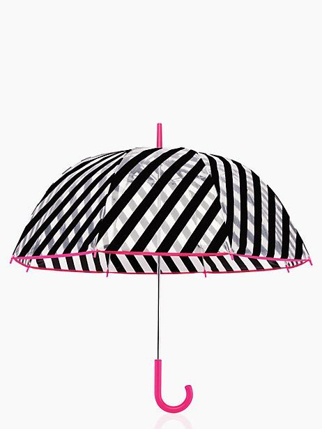 striped kate spade umbrella