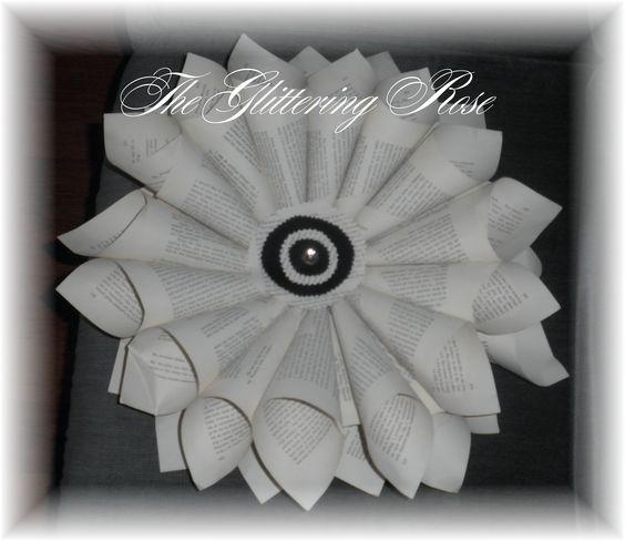 Folded paper  theglitteringrose.blogspot.com