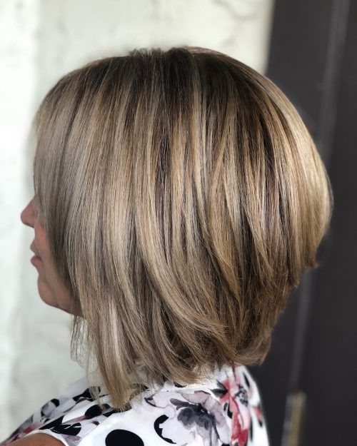 28 Cute Stacked Bob Haircuts Trending In 2020 Long Bob Haircuts Layered Bob Haircuts Stacked Bob Haircut