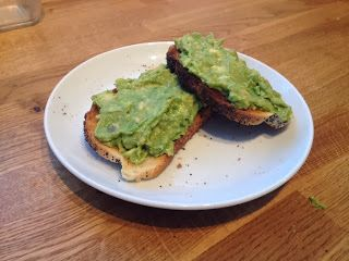 Diary of a Sauce Pot: Rachael's Recipes - Avocado on Toast
