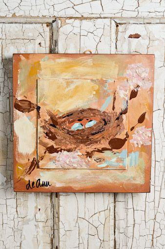 Gorgeous painting....would look pretty good in my kitchen....hmmmmmm