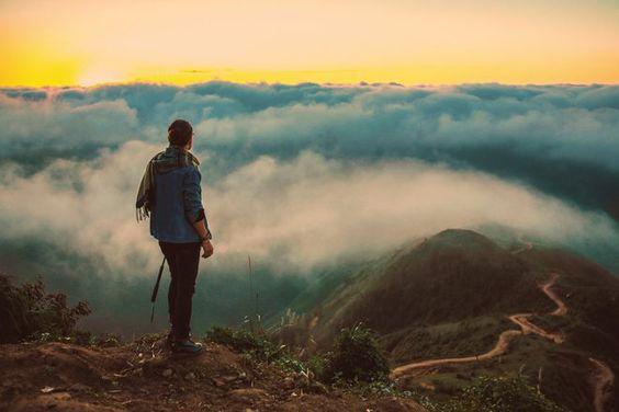 Săn mây ở Tà Xùa Ảnh: Tuấn Đào/Ngôi Sao