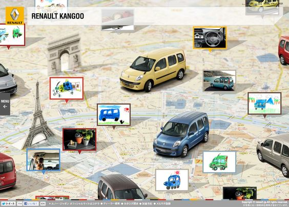 RENAULT KANGOO Special Site