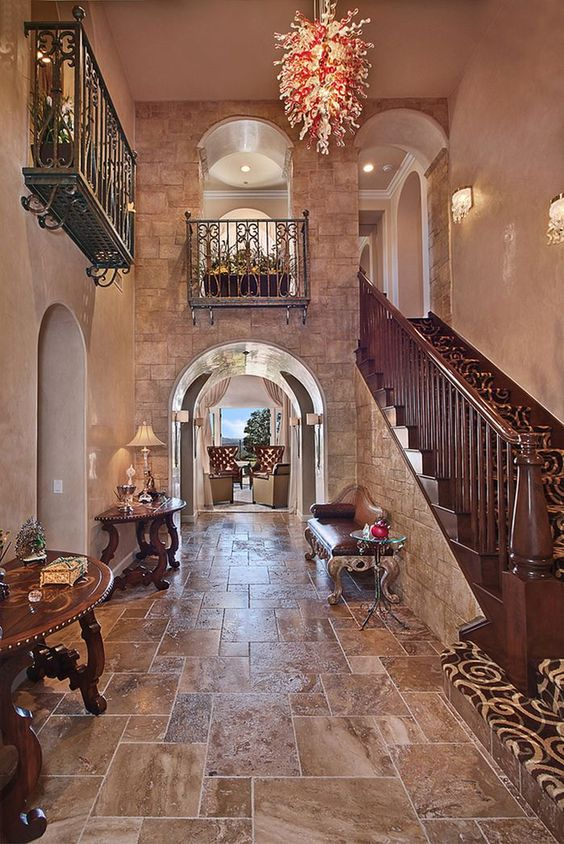 Traditional Foyer Questions : Traditional entryway and hallway photo by beverly hills