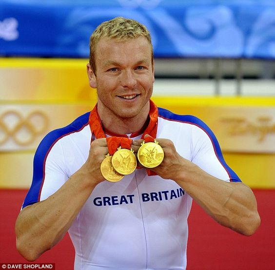 Sir Chris Hoy, who also has six Olympic gold medals for Team GB, was born onMarch 23