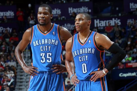 KD and Westbrook