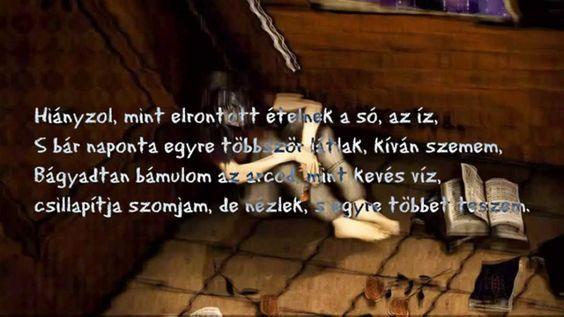 Mikor hiányzik valaki... Mikó Zsolt - Hiányzol  #VersSziget #Youtube