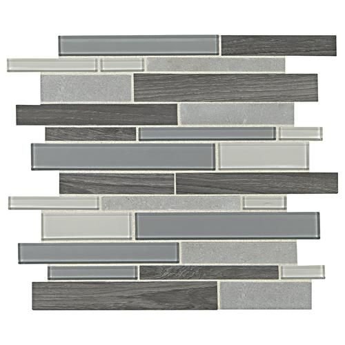 Menards Backsplash To Incorporate Greys And Tans Together Stone