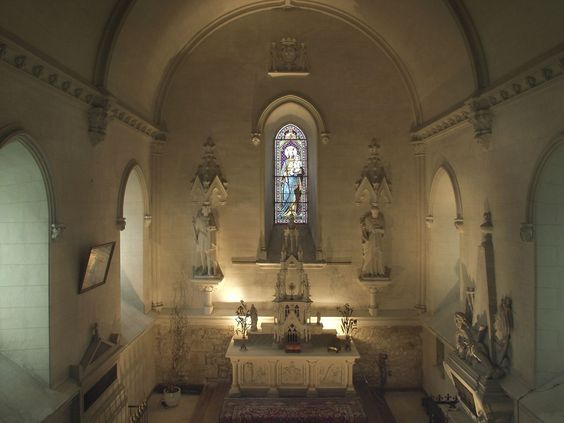 A nice private chapel to get #married.