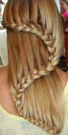 Swerve French braid