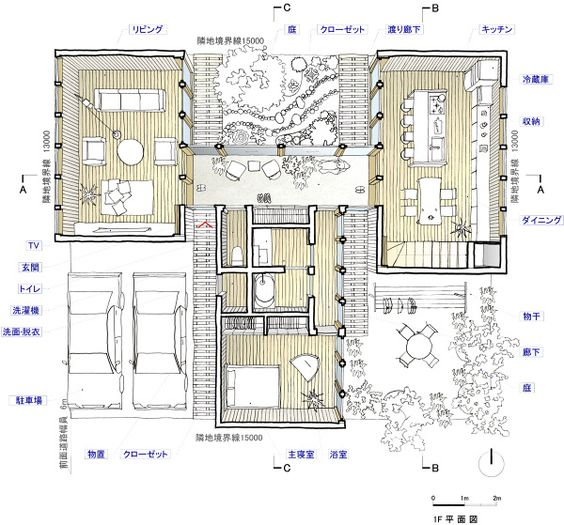 Betsubetsu room - on2 Architects 建築設計事務所