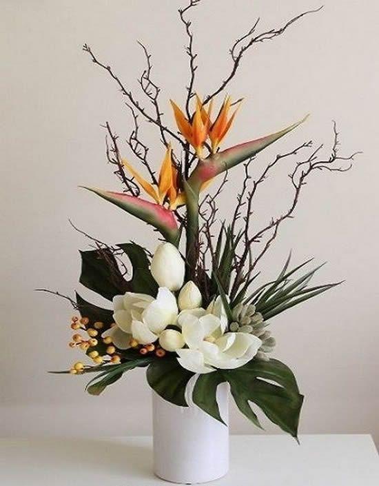 Decore Mesas Com Arranjos De Flores Lindos Arranjos De Flores De