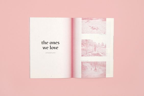 This is a really cute fanzine page layout as it looks like they have chosen quite a small format. Size for the whole fanzine. Even though, they have managed to keep the consistency throughout the fanzine because you can just tell