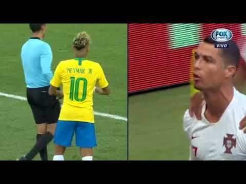 As Comparacoes De Neymar Pelo Brasil E Cristiano Ronaldo Por Portugal Na Cristiano Ronaldo Neymar Ronaldo