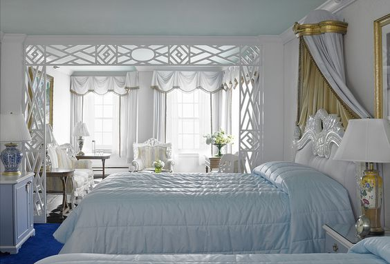 Barbara Bush Suite by Grand Hotel - Mackinac Island (Beautiful, I want to stay at the Grand one day!)